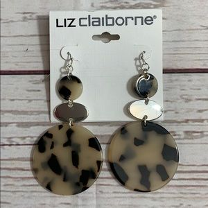 NWT Liz Claiborne Dangle Earrings